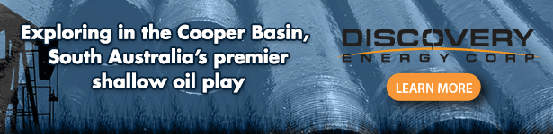 Exploring in the Cooper Basin, South Australia's premier shallow oil play - Discovery Energy Corp
